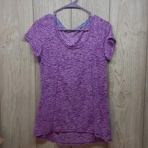 MAURICES Sheer Purple Tshirt